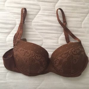 GILLIGAN & O'MALLEY LUXE Lace Bra - Size: 34B